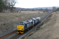 37608 and 37402 Broomhaugh 29.03.2013