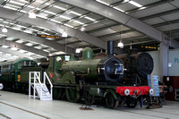 LSWR T3 4-4-0 No563 Shildon Locomotion 24.02.2012