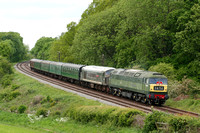 47117 (D1705) and 45125 (D123) Kinchley Lane 14.05.2011