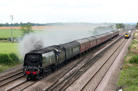 SR Battle of Britain 4-6-2 BR No34067 Colton Junction 22.07.2011